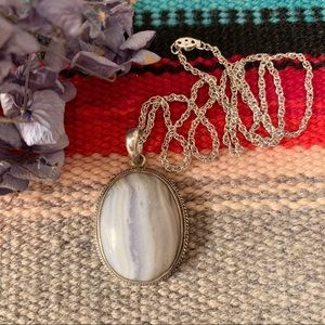 Sand Dune Pendant Necklace